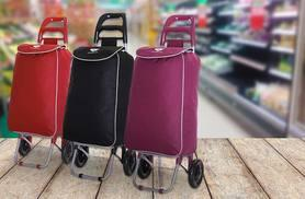 £9.99 (from Karabar) for a Slimbridge Victoria shopping trolley bag - choose from black, plum and cherry