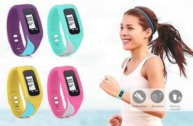 £6.99 instead of £40 (from Ugoagogo) for a V-Fit fitness tracking watch – choose from turquoise, purple, pink and yellow and save 83%