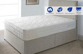 £59 instead of £379 for an Evolution Interactive orthopaedic memory sprung single mattress, £79 for a small double or a double or £89 for a king-size - save up to 84%