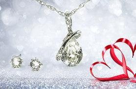 £22 instead of £59 (from Aspire) for a teardrop necklace and earring set - save 63%