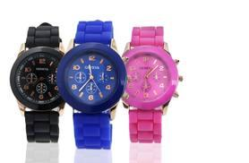 £6 instead of £23 (from Fakurma) for a Geneva unisex silicone watch - choose from nine colours and save 74%