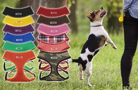 £3.99 instead of £5 (from Bunty Pet Products) for a mesh pet harness - choose from 12 colours and save up to 20%