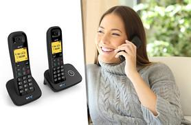 £28 instead of £46.28 for a BT 1100 DECT twin cordless telephone pack from Deals Direct - get connected and save 39%