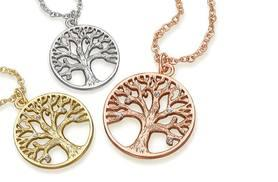 £8 instead of £79 (from Lily Spencer) for a tree of life pendant necklace - save 90%