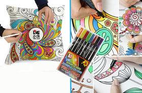 £9.98 instead of £49.99 (from London ExchainStore) for a graffiti pillowcase with colouring pens - get creative and save 80%