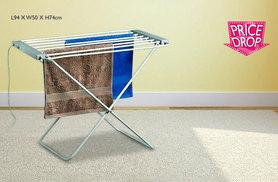 £19.99 instead of £84 (from Direct2Public) for a freestanding heated clothes airer and dryer - save 76%