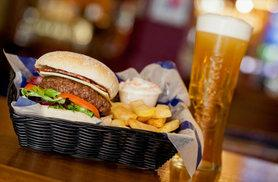£15 instead of up to £28 for a burger and beer each for two people at the Around the World Bar & Lounge within Bierkeller - choose from five locations and save up to 46%