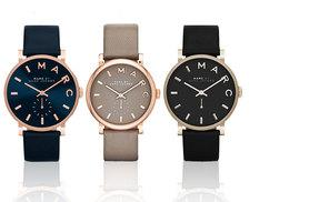 £109 instead of £178.01 (from Plus Watches) for a Marc Jacobs ladies' watch - choose from three stunning designs and save 39%