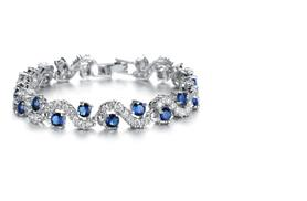 £22 instead of £99 (from Styled By) for a crystal tennis bracelet - go glam and save 78%