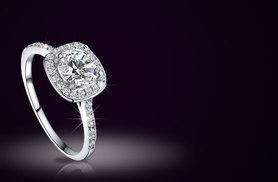 £5 instead of £89 (from Alvi's Fashion) for a crystal ring - choose from three sparkling sizes and save 94%