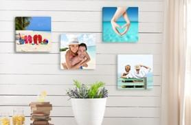 """£12 instead of £117.96 (from Deco Matters) for four 8"""" x 8"""" canvasses - save 90%"""