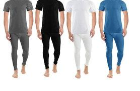 £6 instead of £19.99 (from Groundlevel) for a thermal long john and T-shirt set, £11 for two sets or £14 for three sets - choose from four colours and save up to 70%