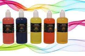 £14 for a 100ml e-cigarette liquid in over 60 flavours from Royal Vapormax