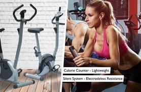 £49 instead of £199.99 (from Aosom) for an elliptical indoor exercise bike, with a limited number available for just £39 - choose from two models and save up to 80%
