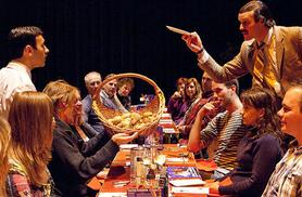 """£99 (from Buyagift) for Faulty Towers The Dining Experience including 3-course meal and show for 2 - """"don't mention the war!"""""""