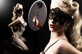 £8.99 instead of £42.98 (from Who Runs The World) for a body stocking and feather paddle - choose from 4 designs & save 79%