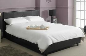 £199 (from Fishoom) for a double bed, memory foam mattress and bedding set, or £229 for a king size - sleep tight and save up to 72%