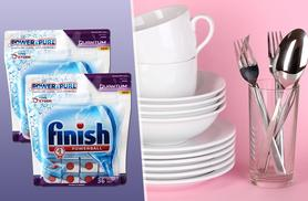 £9.99 for a pack of 72 Finish Quantum dishwasher tablets, £17.99 for 108, £22.99 for 144 from Wowcher Direct - save up to 50%