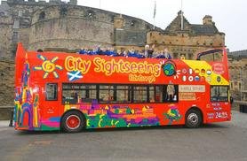 From £3 for a child ticket for a 'hop on-hop off' City Sightseeing bus tour, from £8 for an adult ticket - choose from 21 UK locations!
