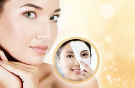 £8 instead of £103.94 (from SalonBoxed) for 10 luxury collagen face masks plus a headband - love your skin and save 92%