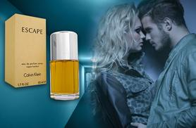 £19.99 instead of up to £47.01 for a 50ml bottle of Calvin Klein Escape for him or her from Wowcher Direct - save up to 57%