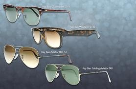 From £79.99 for a pair of Ray Ban Sunglasses from Wowcher Direct - save up to 36%