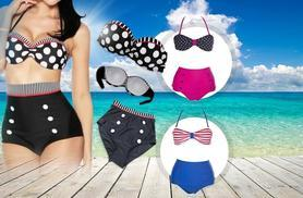 £8.99 instead of £38.99 (from Beautyfit) for a vintage-style bikini, or get 2 for £16.99 - splash around and save up to 77%