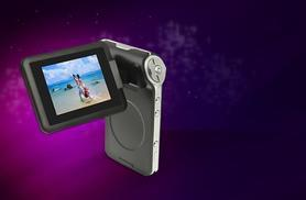 """£27 for a slimline 2.4"""" 4x digital zoom mini DV camcorder from Wowcher Direct - save 73%"""