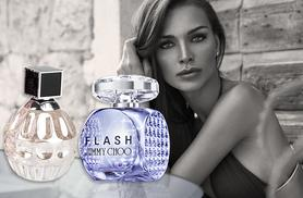 £26 instead of up to £61 (from My Perfume Room) for a 60ml bottle of <I>Jimmy Choo</i> or <i>Jimmy Choo Flash</i> eau de parfum - save up to 57%
