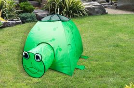 £14.99 instead of £45 (from All Boxed-up.com) for a kids' pop-up animal play tent - choose a frog, ladybird or bee design and save 67%