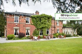 £89 (at Bartle Hall, Lancashire) for a 1nt stay for 2 including Prosecco, £20pp dinner voucher, late checkout & breakfast, £139 for 2nts - save up to 41%