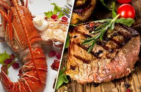£34 instead of up to £79 for a surf and turf meal for 2 including a glass of Prosecco each at The Lobster House, Putney - save up to 57%