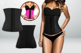 £19.99 instead of £65 (from Boni Caro) for a latex 'waist trainer' - choose pink or black & save 69%