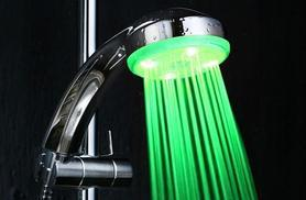 £8.99 instead of £24.99 (from eGlobal Shoppers) for an LED colour-changing shower head - shower in style and save 64%
