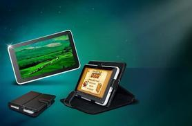 """£39 instead of £124.98 (from Wowcher Direct) for a 7"""" dual core Android tablet and faux leather case bundle - save 69%"""
