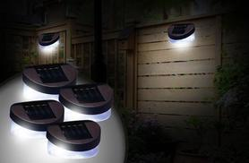 £6 instead of £27 (from Zoozio) for two solar fence lights, £9 for four lights - save up to 78%