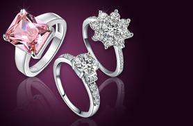 From £7.99 instead of up to £69.99 (from Fakurma) for a choice of 5 elegant rings - save up to 89%