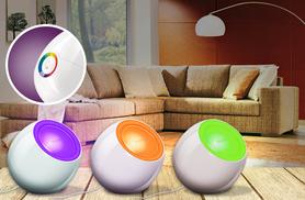 £24.99 instead of £44.99 for a Philips LivingColours mood lamp capable of 256 colours from Wowcher Direct - save 44%