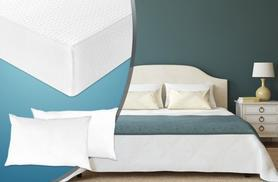 £79 (from Sleep Solutions) for a single memory foam mattress and pillow, £99 for double or small double, £109 for king, £129 for super king - save up to 62%