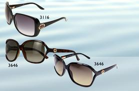 From £89 for a pair of Gucci designer sunglasses in a choice of five ladies' styles from Wowcher Direct - save up to 55%