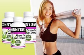 £9 instead of £29.99 (from Skinny Diva) for a 3mth* supply of green tea 'colon cleanse' tablets, £17 for a 6mth* supply - save up to 70% + DELIVERY INCLUDED!