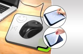 £6.99 instead of £12 for a Scratch-n-Scroll erasable mouse pad from Wowcher Direct - save 42%