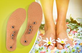 £4.99 instead of £19.99 (from Pretty Essential) for a pair of acupressure insoles, £8.99 for two pairs - step it up and save up to 75%