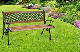 £34.99 instead of £129.99 (from Groundlevel.co.uk) for a 2-person garden bench - save 73%