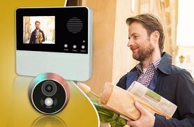 £34.99 instead of £119.99 (from Planet of Accessories Ltd) for a wireless doorbell with night vision viewer - save 71%