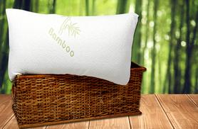 £9.99 instead of £39.99 (from Groundlevel.co.uk) for a bamboo memory foam pillow, £19.98 for two - sleep tight & save up to 75%