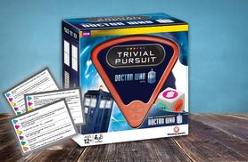 £7.50 instead of £16 for a Doctor Who Trivial Pursuit board game from Wowcher Direct - save 53%