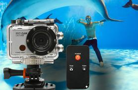 £39.99 instead of £52.49 (from 3 Wise Monkeys) for a Denver AC-5000W full 1080P HD waterproof action camera - save 24%