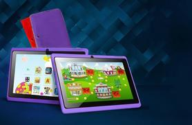 £29 instead of £109.99 for a 7-inch dual core touchscreen Android tablet for kids from Wowcher Direct - choose from 4 colours & save 74%