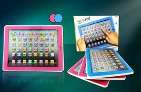 £5.99 instead of £24.99 (from London Exchainstore) for a children's Y-Pad learning tablet - choose from two colours and save 76%